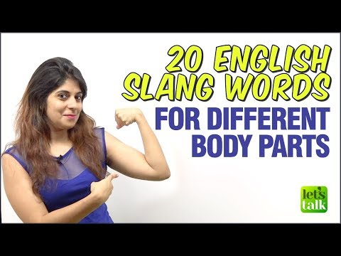 Learn English Slang Words & Phrases for Different Body Parts | Informal English Speaking Practice