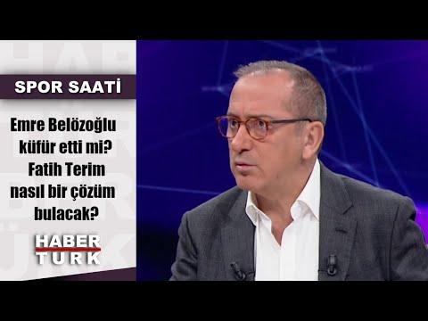 Spor Saati - 4 Kasım 2019 (Emre Belözoğlu küfür etti mi? Fatih Terim nasıl bir ç
