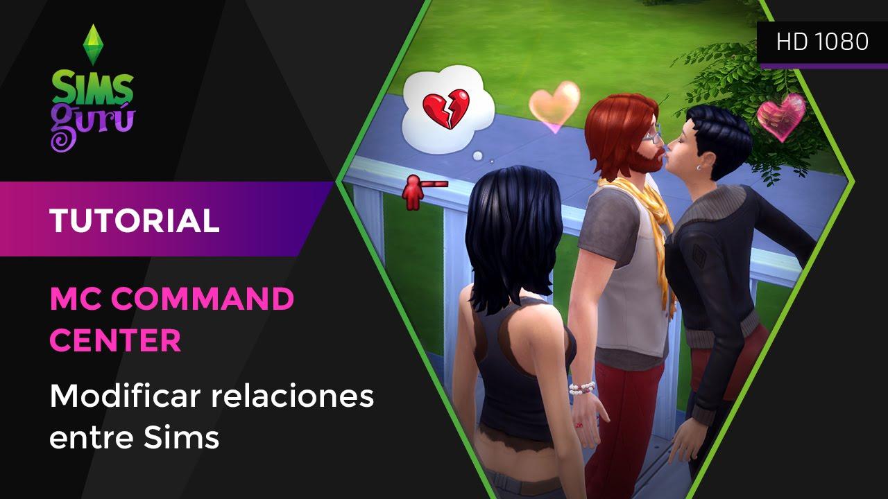 Modificar relaciones entre Sims con el mod Mc Command Center