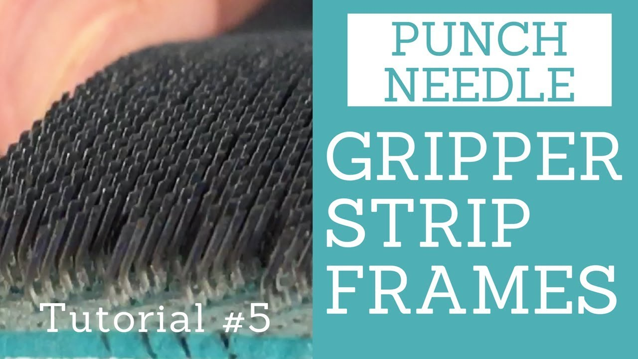 Stretching Your Backing On A Gripper Strip Frame