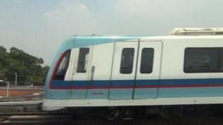 【車窓】中国 広州地下鉄5号線(滘口→広州火車駅)ノーカット china Guangzhou metro