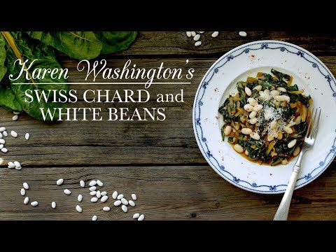 Swiss Chard and White Beans   Kitchen Vignettes   PBS Food