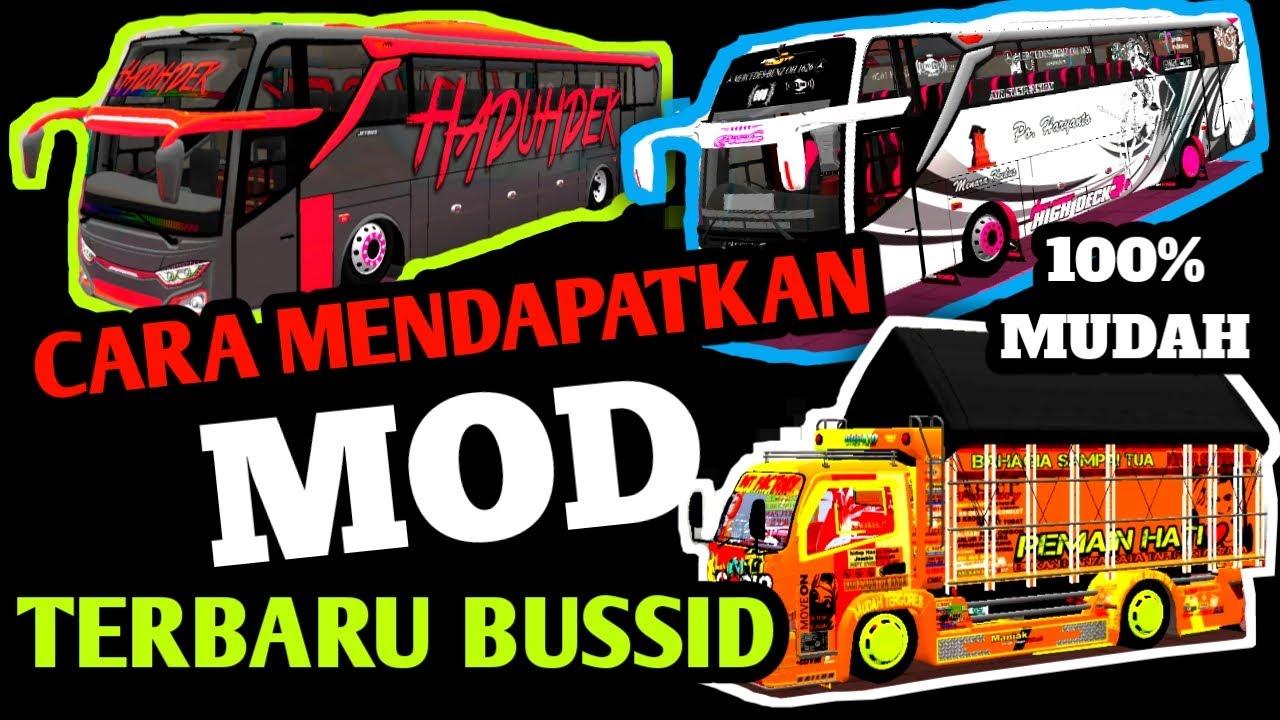 Cara Baru Pasang Mod Truck Pada Bussid Bus Simulator Indonesia Youtube