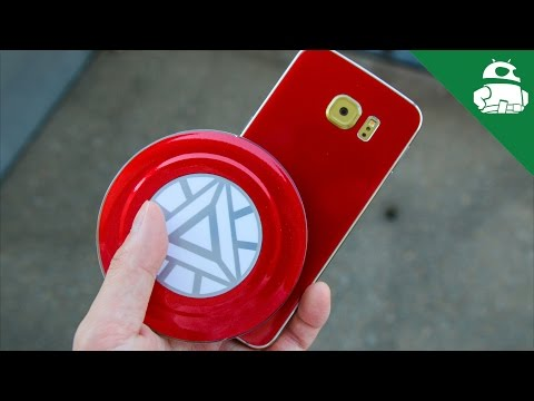 Convert your Samsung Galaxy S6 Edge into the Iron Man edition with SlickWraps