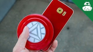 Turn your S6 Edge into an Iron Man Edition with SlickWraps!