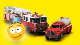 Fire Brigade | Fire Trucks Cartoon | Fire Station for Children | Car Videos for Kids