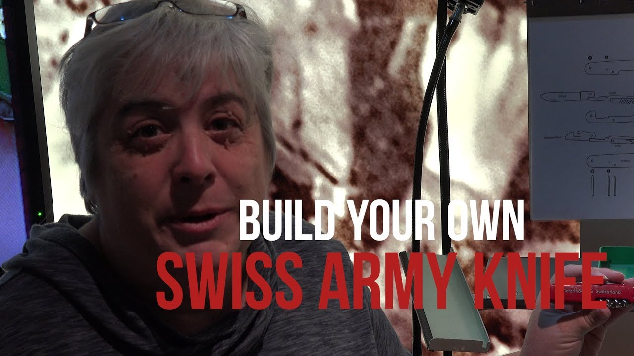 Build Your Own Swiss Army Knife - YouTube