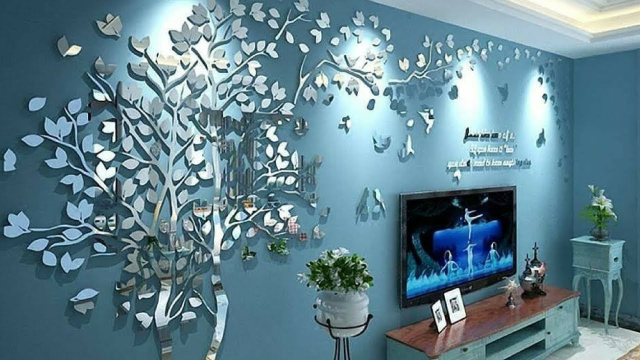 Beautiful Bedroom and Living Room Wall Design and Decorating Ideas Wall  Painting Ideas