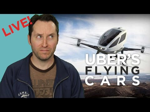 We Need To Talk About Uber's Flying Cars Announcement | Answers With Joe Live