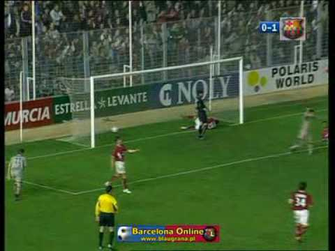 Barcelona vs Murcia Ronaldinho Goal 2 (2003-2004)