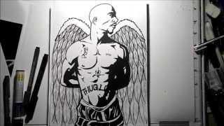 Drawing Tupac
