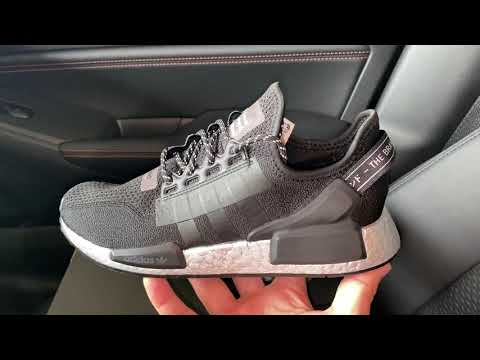 Adidas Nmd R1 V2 Silver Boost Women shoes
