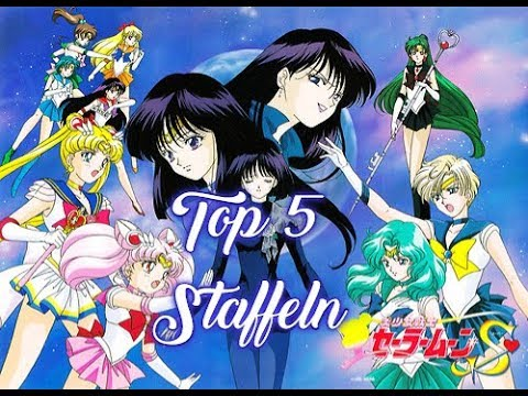 sailor moon staffeln