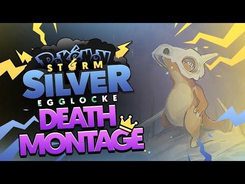 Pokémon Storm Silver Egglocke w/ TheKingNappy! - DEATH MONTAGE :[