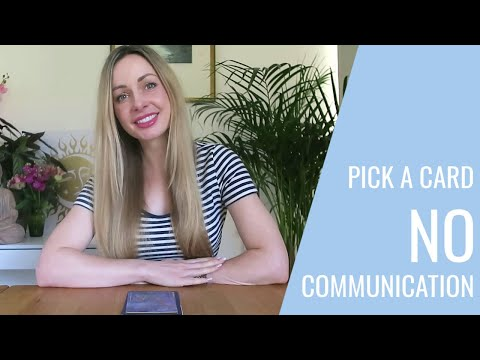 No Communication / What's Going On With Them? / No Contact PICK A CARD Timeless Tarot