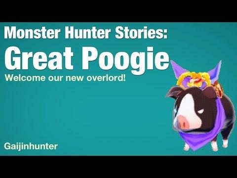 Monster Hunter Stories: Great Poogie