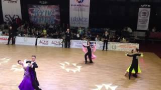 Зеленова Александра и Фальшовник Александр. Танго . Kyiv Open 2016