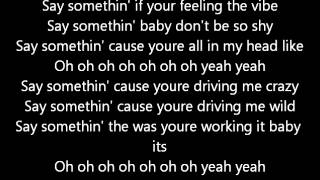 Say Somethin Austin Mahone lyrics