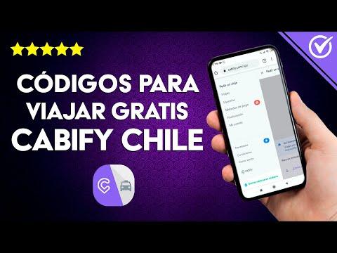 Códigos de Descuento y Promocionales para Viajar Gratis en Cabify Chile