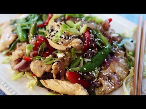 How To Make Garlic Chicken Stir Fry | Chicken Recipes | Allrecipes.com
