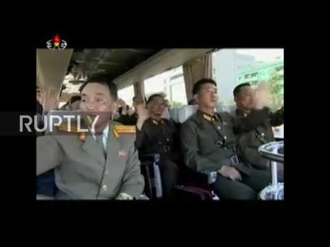 North Korea: Pyongyang celebrates scientists behind Hwasong-12 missile