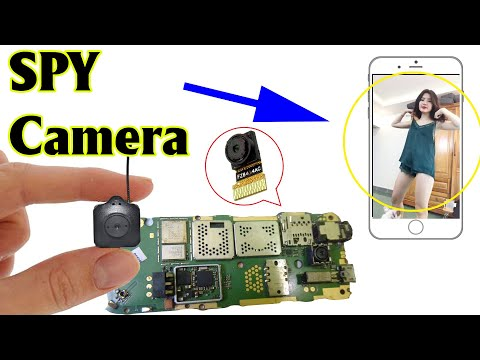 Make SPY CAMERA from old phone   scientific ideas 2020