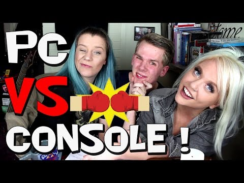 PC vs CONSOLE GAMING! WHO WINS? - Ircha Gaming