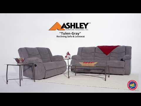 Recline in Comfort with the Ashley Tulen Sofa and Loveseat by Rent-A-Center
