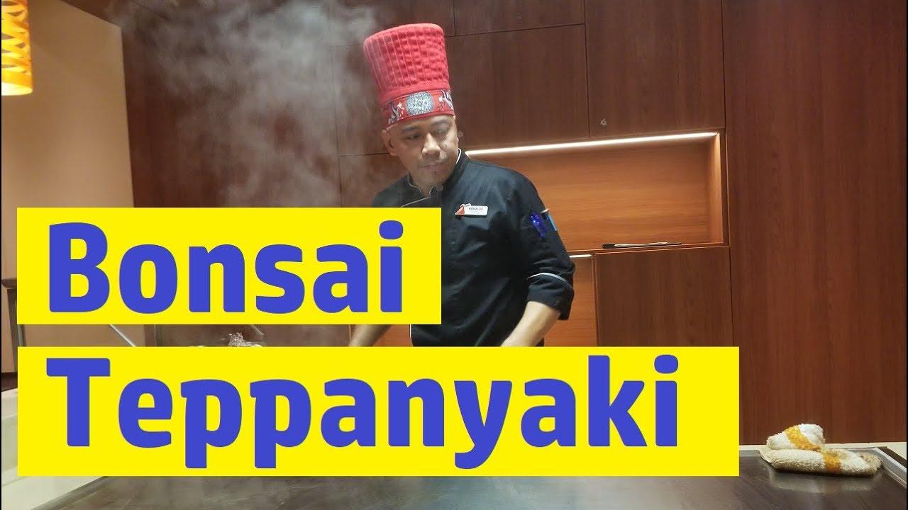 Carnival Horizon Bonsai Teppanyaki Full Meal And Menu Youtube
