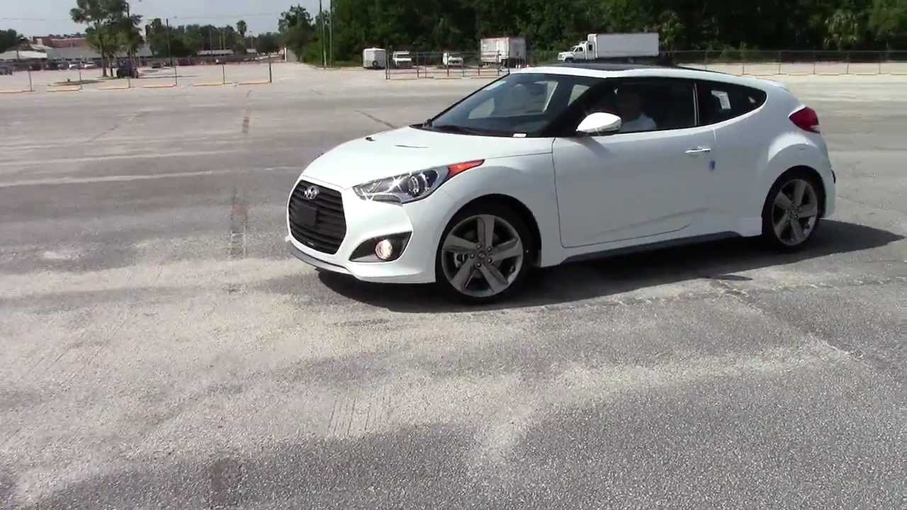 Veloster Turbo Parking Lot Fun Youtube