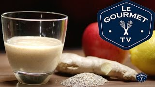 Apple Ginger Warm Up Smoothie Recipe - Legourmettv