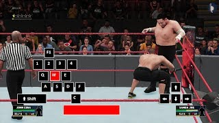 WWE 2K18 Advanced PC Controls