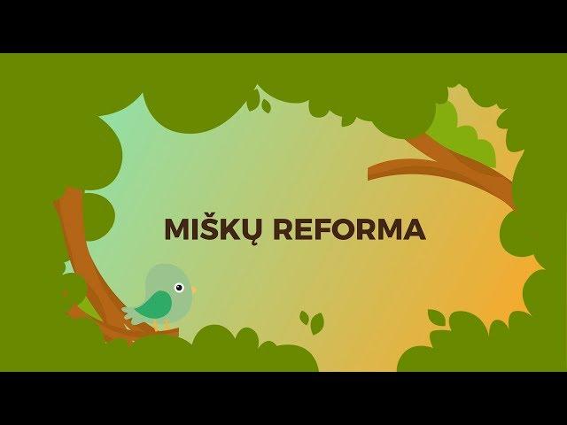 Miškų reforma