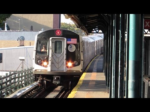 MTA (1080p): N, Q, R and 7 Line Action in Manhattan and Queens