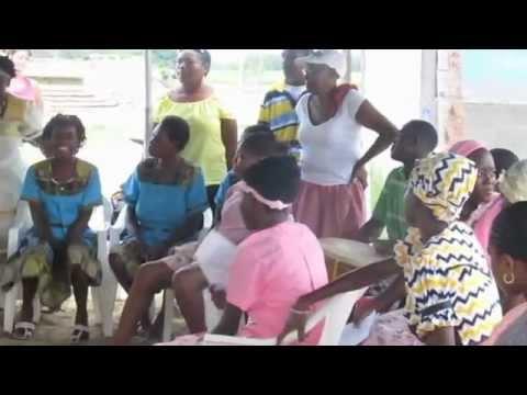 Dancing the Punta in Dangriga, Belize