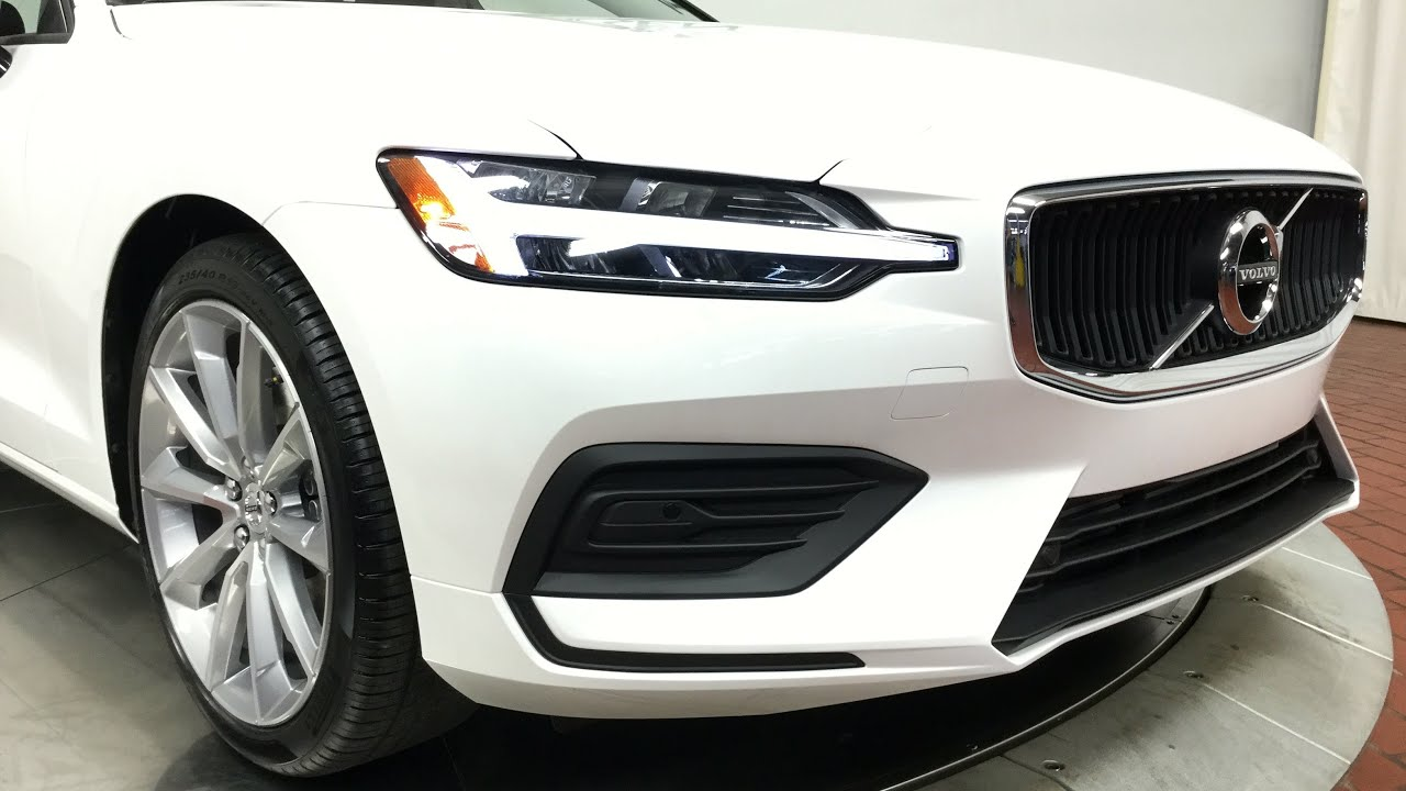 2019 Volvo S60 T6 Awd Momentum Specs: 2019 Volvo S60 T6 AWD Momentum In Crystal White Metallic