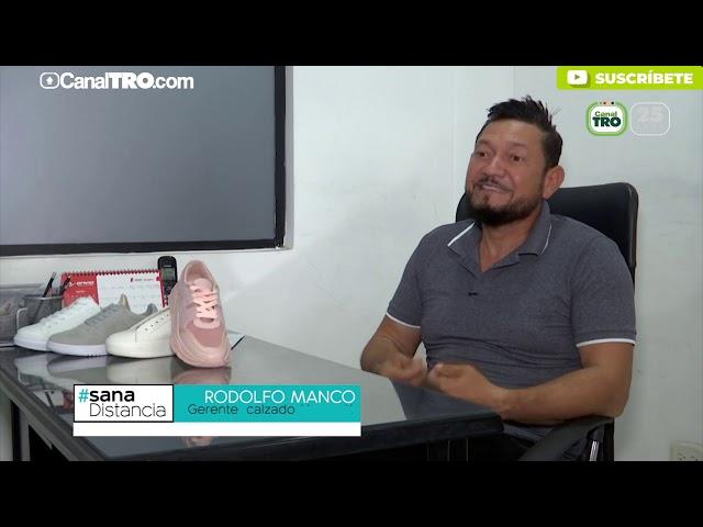 Rodolfo Manco un emprendedor del calzado