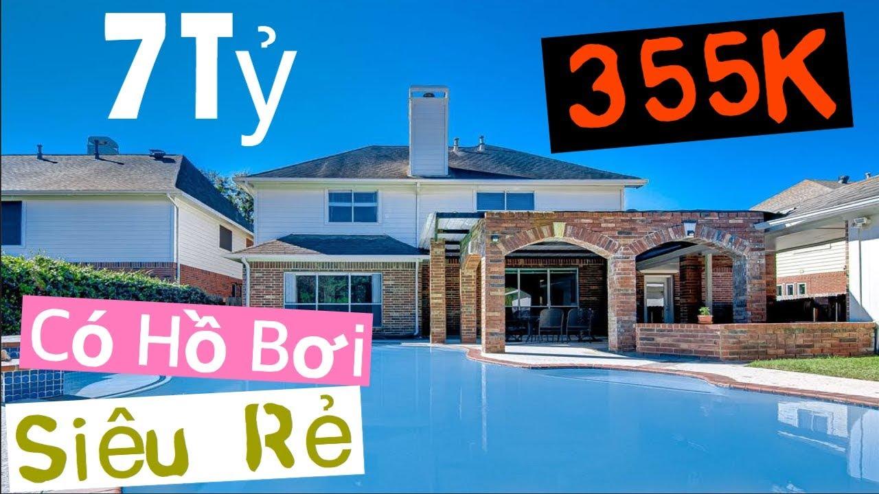 Căn Nhà Bán 355K Siêu Rẻ, Siêu Đẹp Có Hồ Bơi Ở Texas- 355K Home Tour