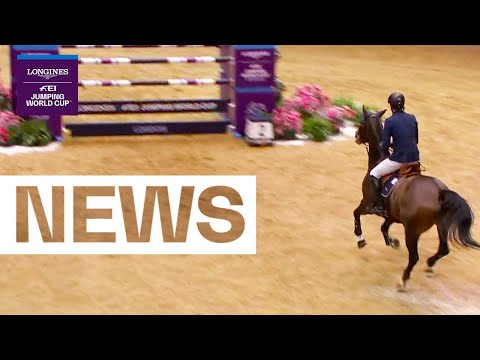 Win no.2 for Martin Fuchs & The Sinner at London Olympia | Longines FEI Jumping World Cup™