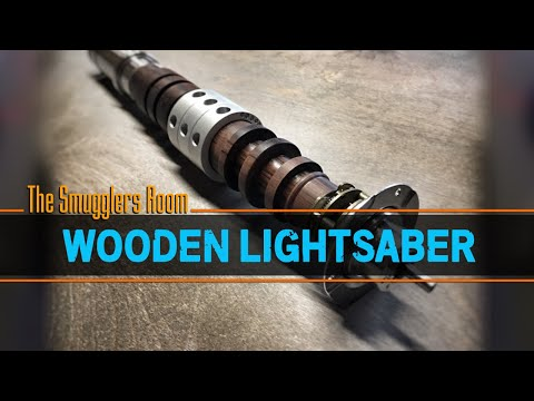 How to Make a Wooden Lightsaber