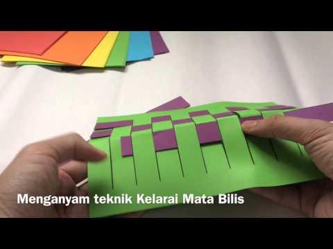 FINAL SUB PRESENTATION 2 ART ATTACK AKTIVITI ANYAMAN (KELARAI MATA BILIS) ALAS MEJA SENI VISUAL