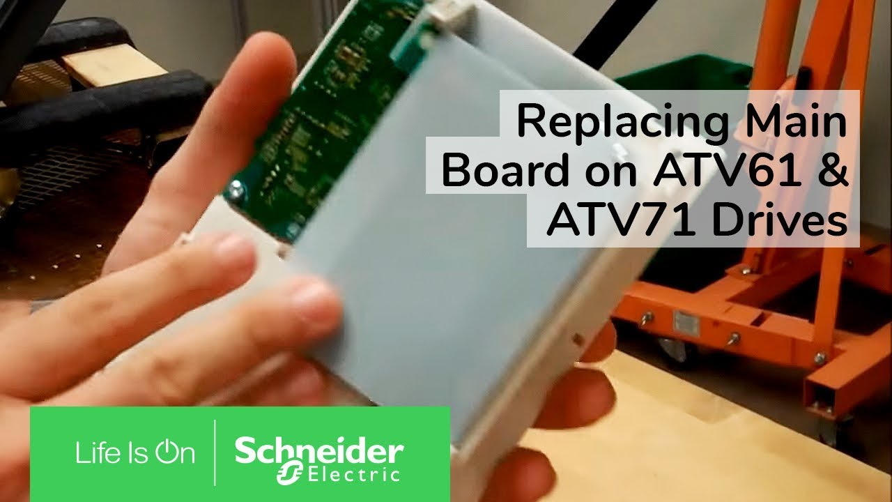 hight resolution of replacing main control board on atv61 atv71 drives schneider electric support