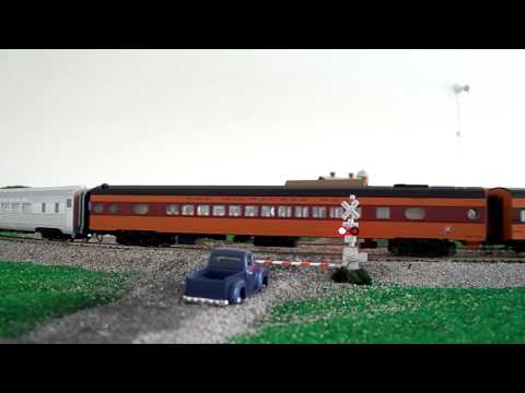 SP Daylight  4449 excursion with auxillary tender and milwaukee road hiawatha cars