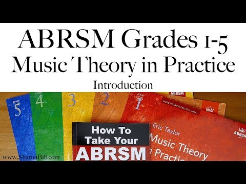 ABRSM Music Theory Grades 1, 2, 3, 4 and 5 Introduction with Sharon Bill