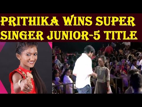 Prithika wins the Super Singer Junior 5 Title | Vijay Tv Super Singer Grand Finale Winners List