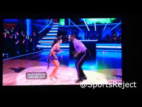 Jacoby Jones on Dancing With The Stars (Jacoby Does Ray Lewis Dance!!) NEW