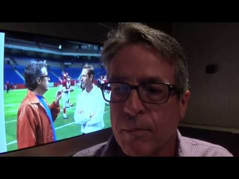 """Writer Angelo Pizzo talks about """"My All-American"""""""