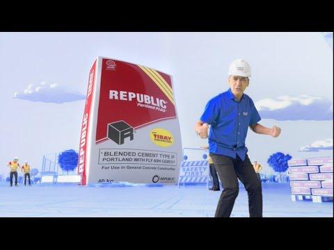 REPUBLIC® Cement: Ang Bossing sa Tibay