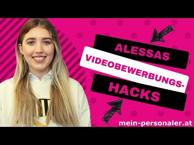 Unsere Tipps für deine Videobewerbung