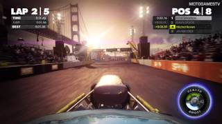 DiRT Showdown Xbox 360 Demo - San Francisco 8-Ball Gameplay
